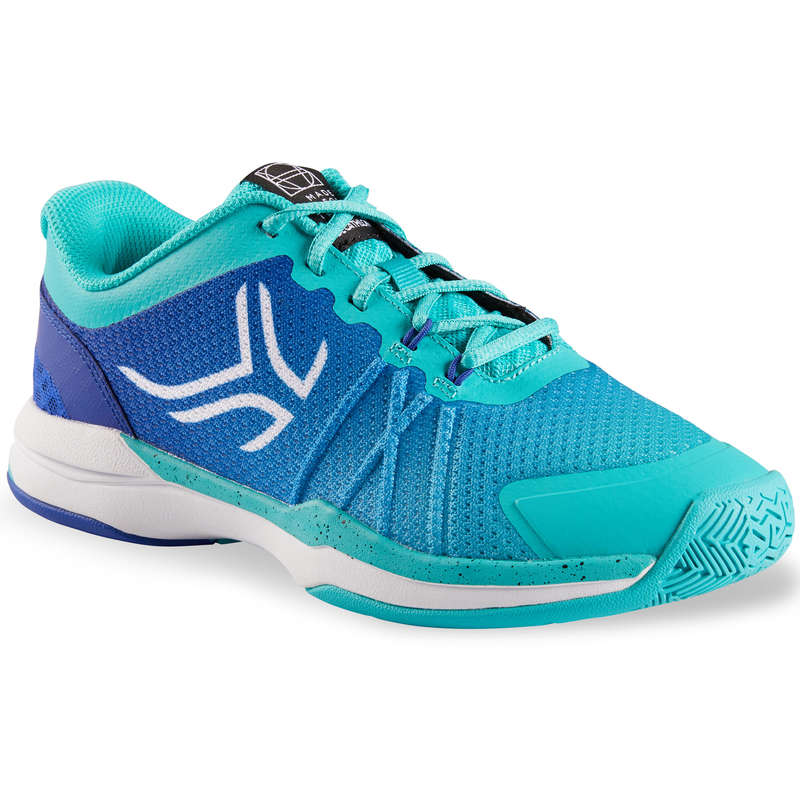 WOMAN TENNIS SHOES Tennis - Women's Shoes TS590 Turquoise ARTENGO - Tennis Shoes