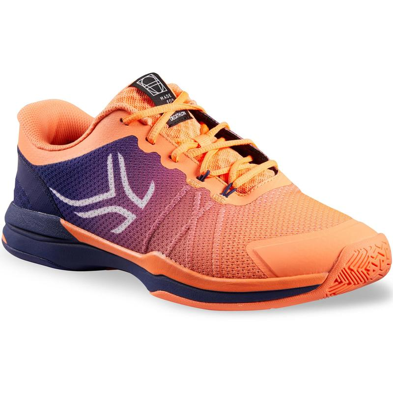 Pánské tenisové boty TS590 modro-korálové