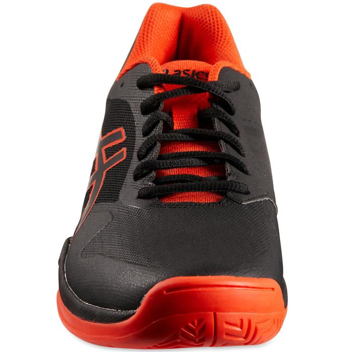Tennisschoenen Asics Gel Game zwart oranje multicourt
