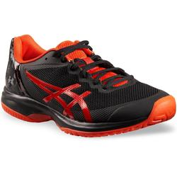 Tennisschuhe Court Speed Multicourt schwarz/orange