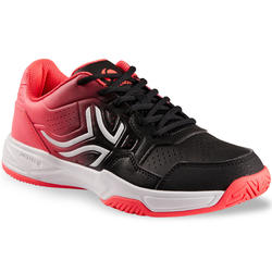 TS 190 Women's Tennis Shoes - Black/Pink