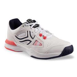 女款網球鞋TS500-白色