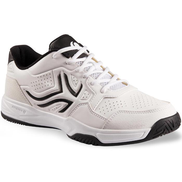 Zapatillas de Tenis Hombre TS190 Blanco Multipista