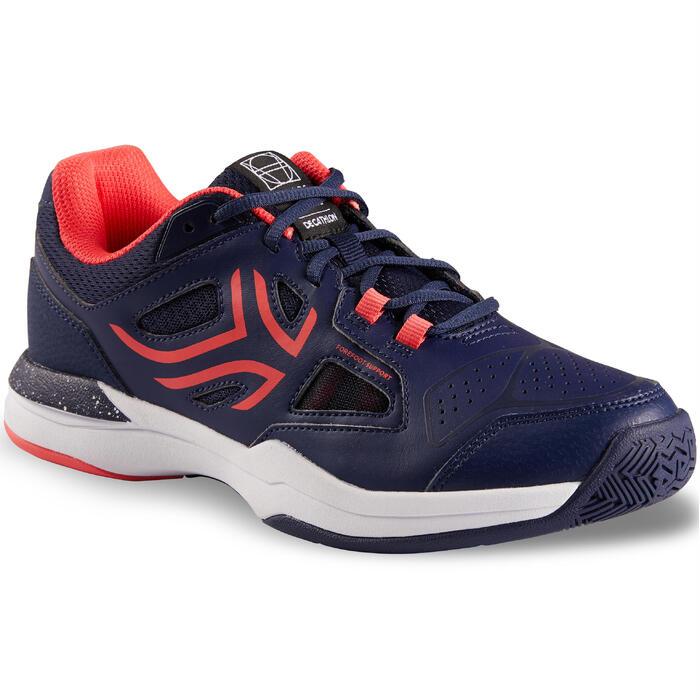 Tennisschoenen voor dames TS 500 marineblauw