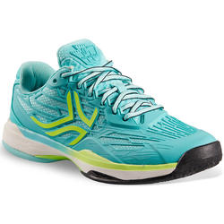 Tennisschoenen voor dames TS900 turquoise