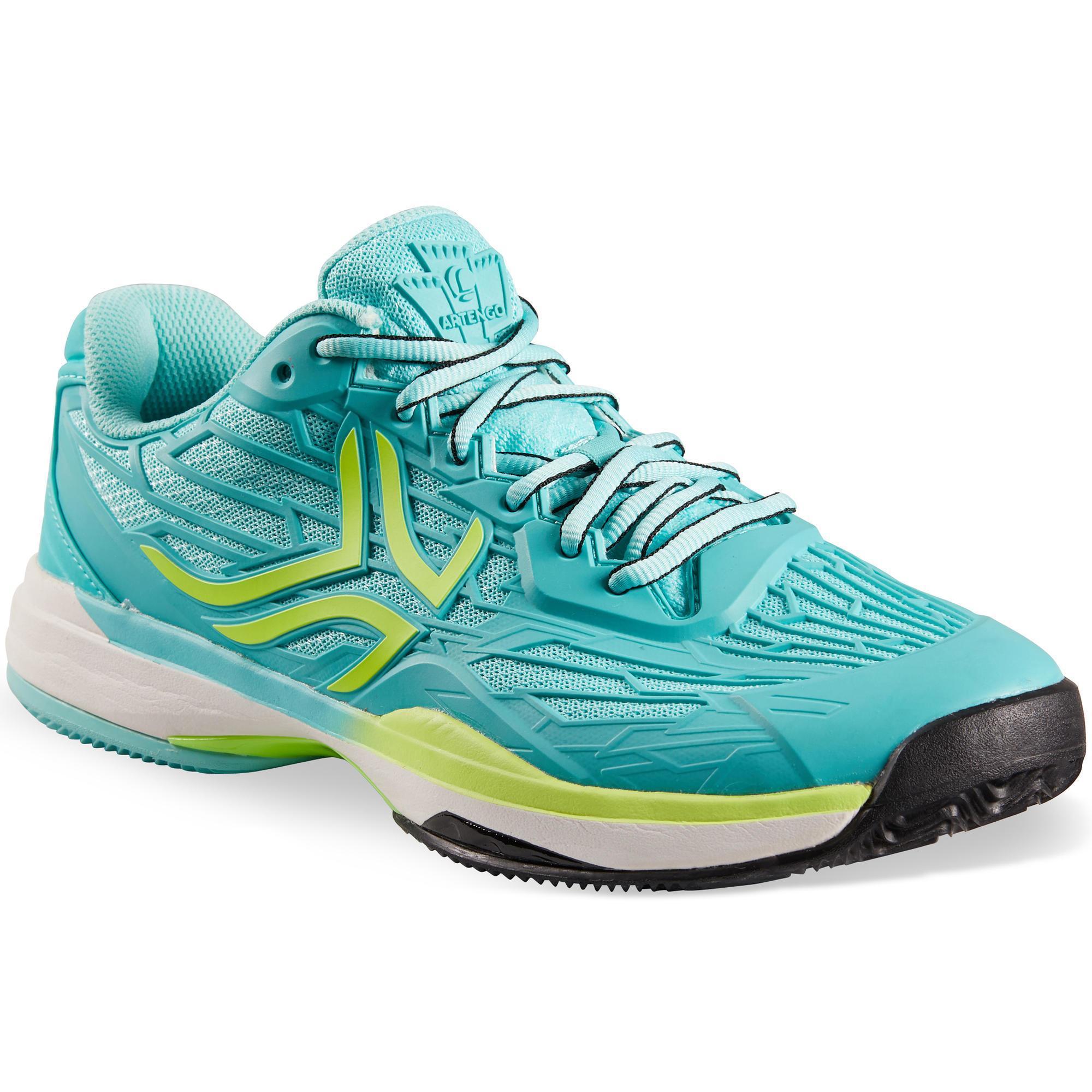 Artengo Tennisschoenen voor dames gravel TS 990 turquoise