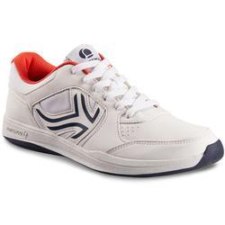 Zapatillas de Tenis Hombre TS130 Blanco Multi terreno