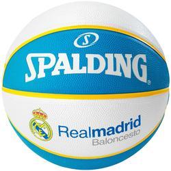 Balón de Baloncesto Spalding Real Madrid talla 7