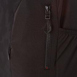 MTB-shirt met korte mouwen ST 500 rood en zwart voor heren