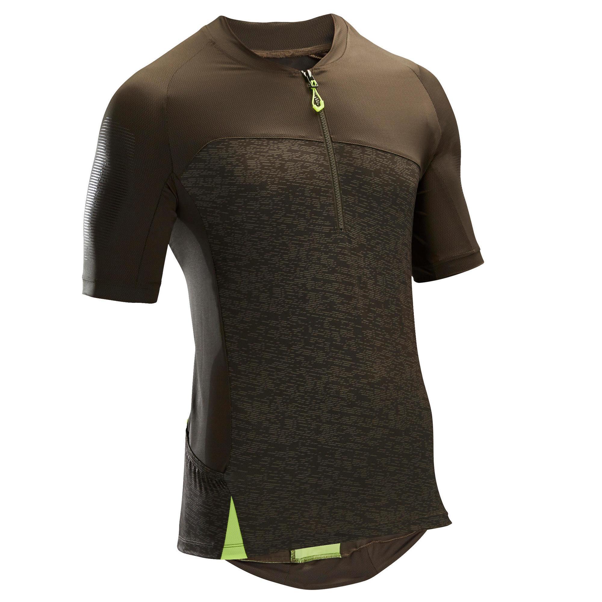 Rockrider MTB-shirt met korte mouwen ST 500 voor heren kopen