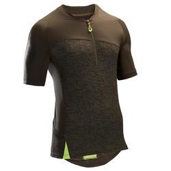 ST 500 Short-Sleeved MTB Jersey - Khaki