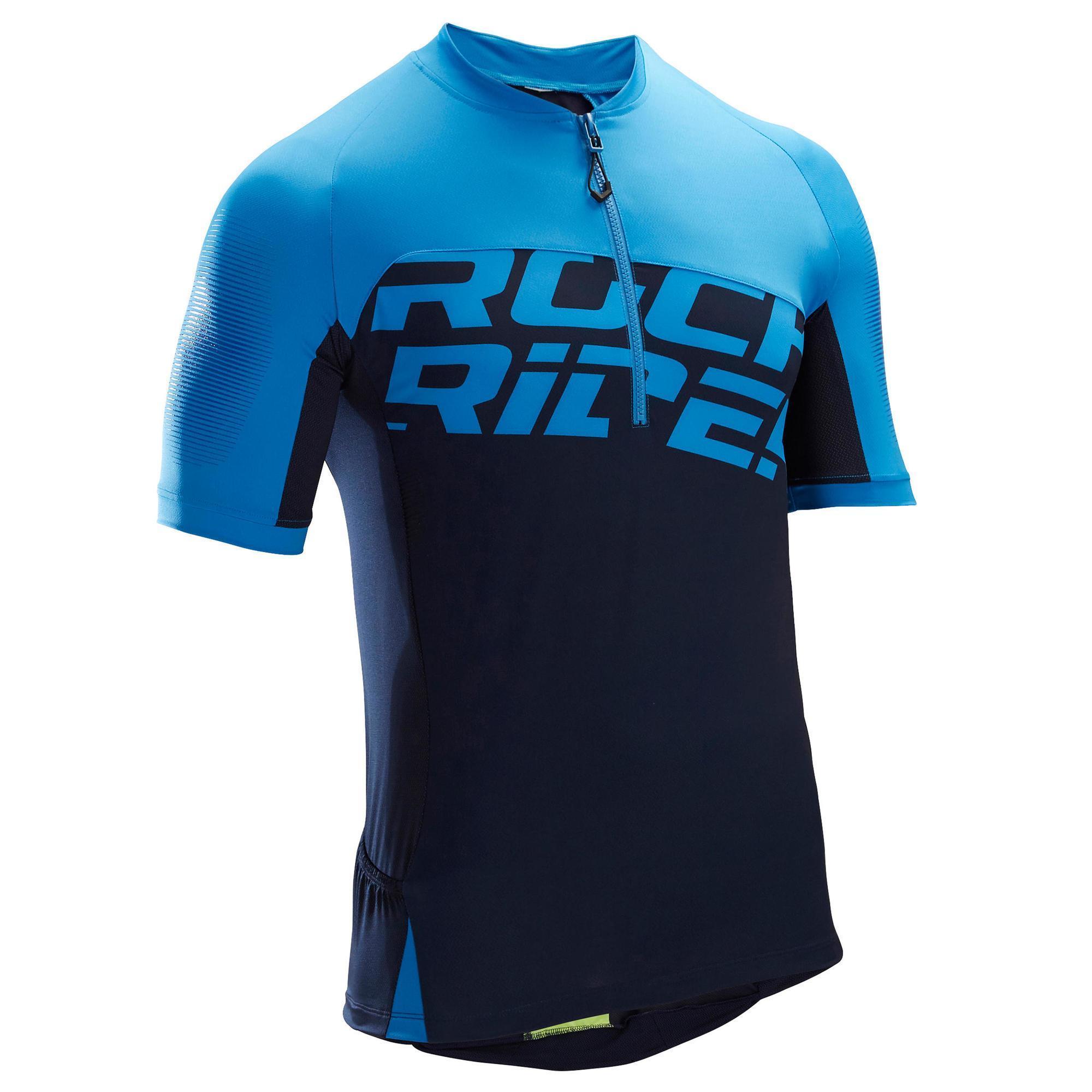 Rockrider MTB-shirt met korte mouwen ST 500 voor heren
