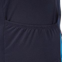 Kurzarm-Radtrikot MTB ST500 Herren blau