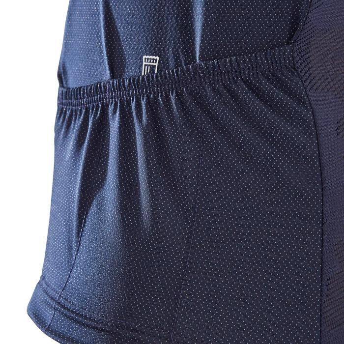 MTB-shirt met korte mouwen ST 500 blauw blauw voor heren