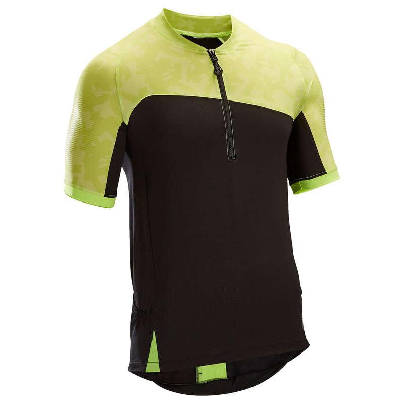 bielizna letnia męska Odzież rowerowa - Koszulka krótki rękaw ST 500 ROCKRIDER - Odzież rowerowa