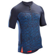 ST 500 Short-Sleeved MTB Jersey - Blue/Red