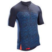 ST 500 Short-Sleeved MTB Jersey - Blue/Red