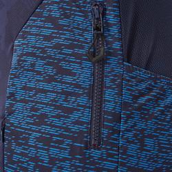 Kurzarm-Radtrikot MTB ST500 Herren blau/rot
