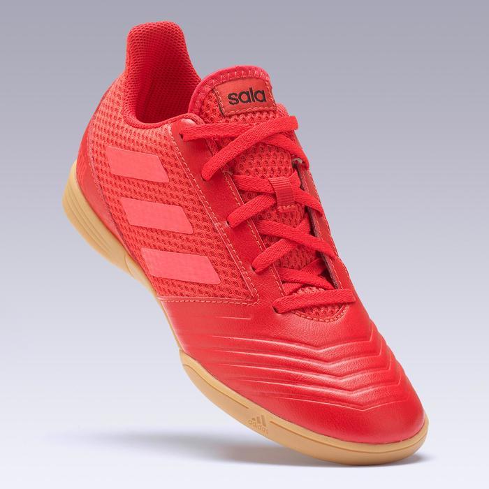 Zaalvoetbalschoenen kind Predator Tango 18.4 IC rood
