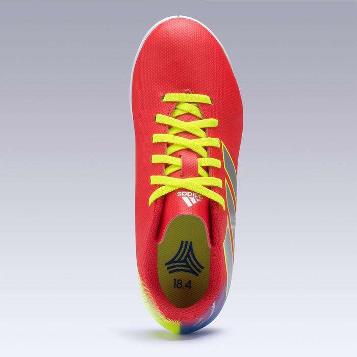 Hallenschuhe Futsal Fußball Nemeziz Messi 19.4 Kinder rot/silber