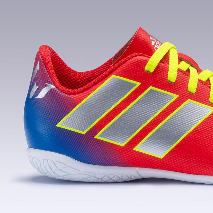 Chaussures de Futsal NEMEZIZ MESSI enfant 19.4 rouge argenté