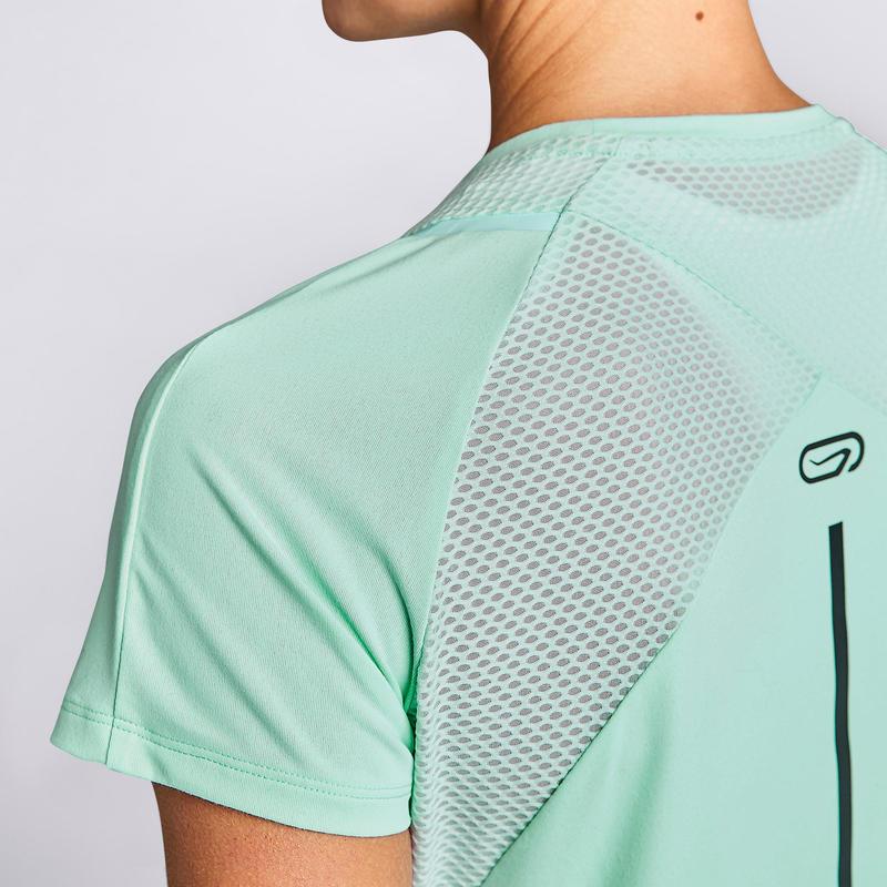 เสื้อยืดใส่วิ่งสำหรับผู้หญิงรุ่น Run Dry+ (สีเขียวอ่อน)