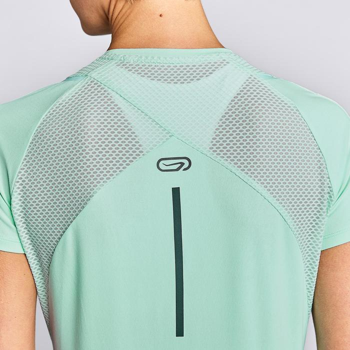 Laufshirt kurzarm Run Dry+ Damen hellgrün