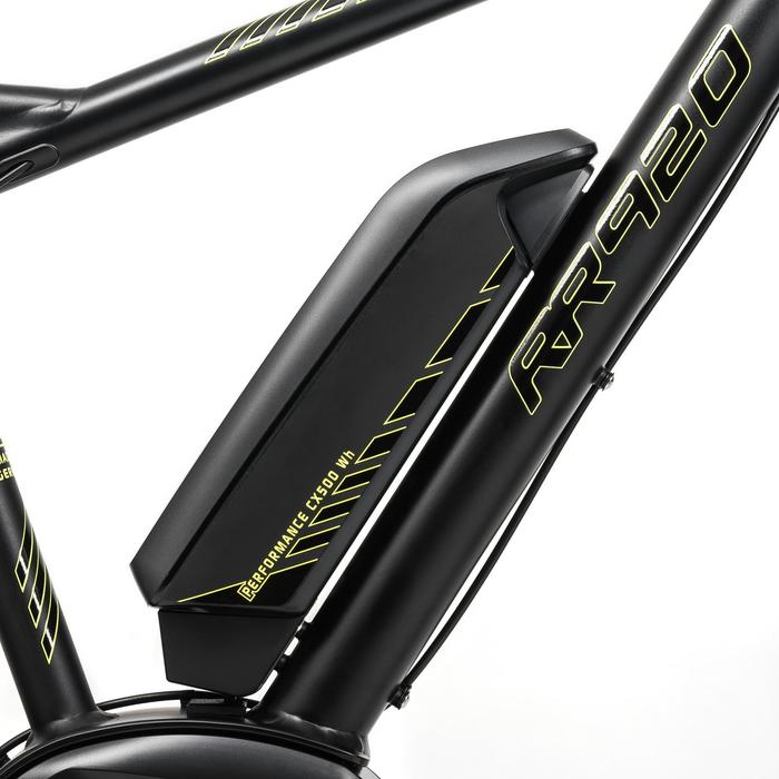 "E-MTB 27,5"" RR 920 Performance CX 2019 500WH Alu schwarz/gelb"