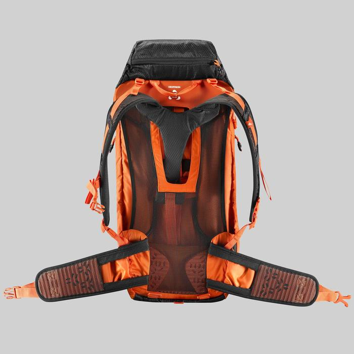Mochila de Montaña y Trekking, Quechua, MH500 40Litros, Funda Impermeable,Hombre
