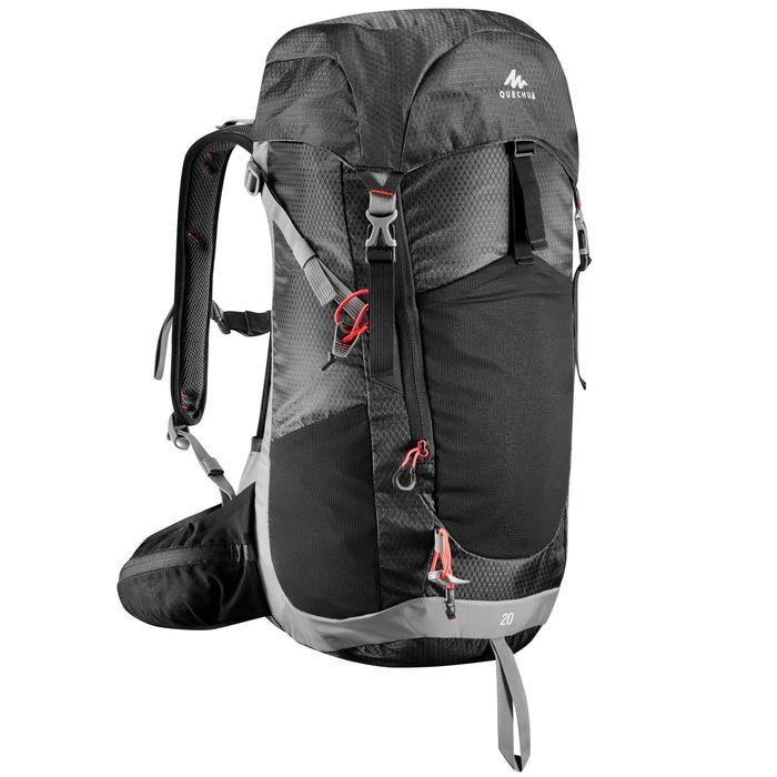 Wanderrucksack Bergwandern MH500 20 Liter schwarz