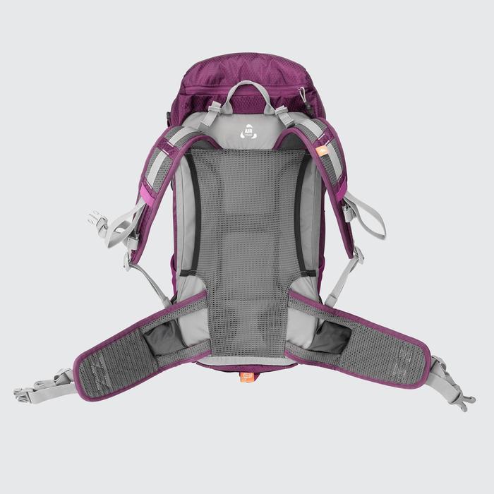 Rucksack Bergwandern MH500 20 Liter Damen violett