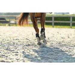 Protectores Equitación Fouganza 500 Jump Caballo Negro Menudillo