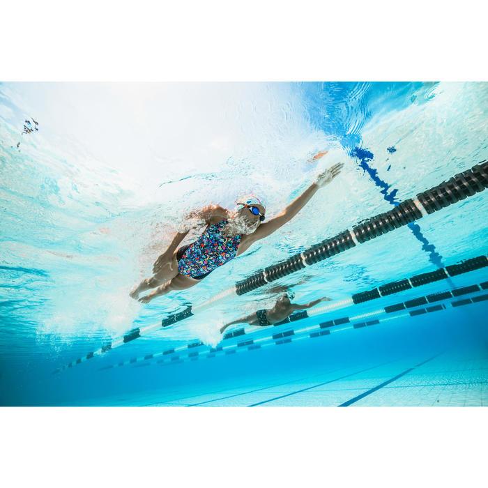 Fato de banho de natação menina resistente ao cloro Kamiye roller