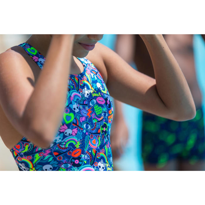 Badeanzug Kamiye Roller chlorresistent Mädchen