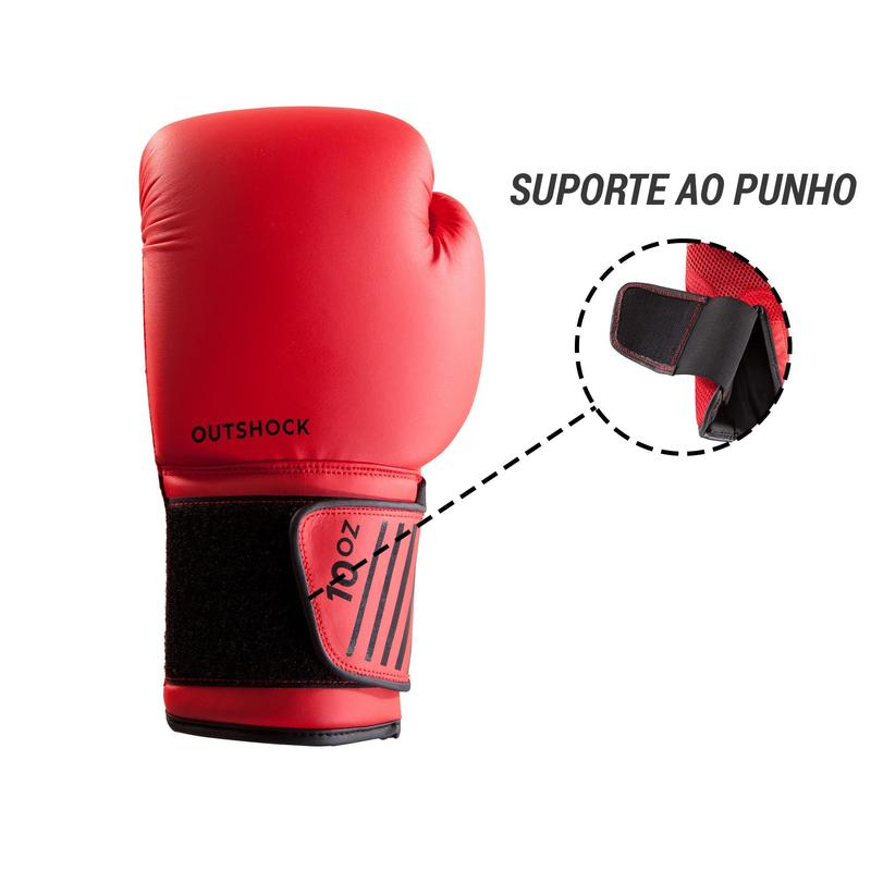 73a6e3b19 Luvas de Boxe 100 para iniciantes
