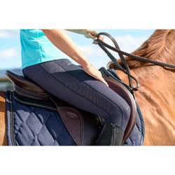 Pantalon équitation femme 100 LIGHT marine