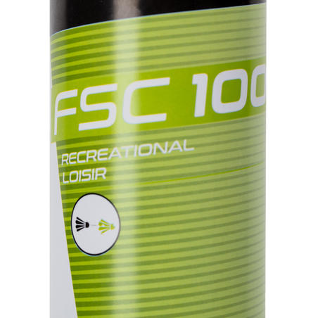 FEATHER SHUTTLECOCK FSC 100  x 12