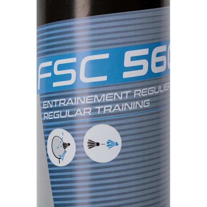 Federbälle Naturfedern FSC 560 Badmintonbälle Speed 78 ×12