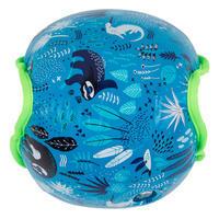 Manguitos natación azules estampado «SLOTH» tejido interior niño 15-30 kg