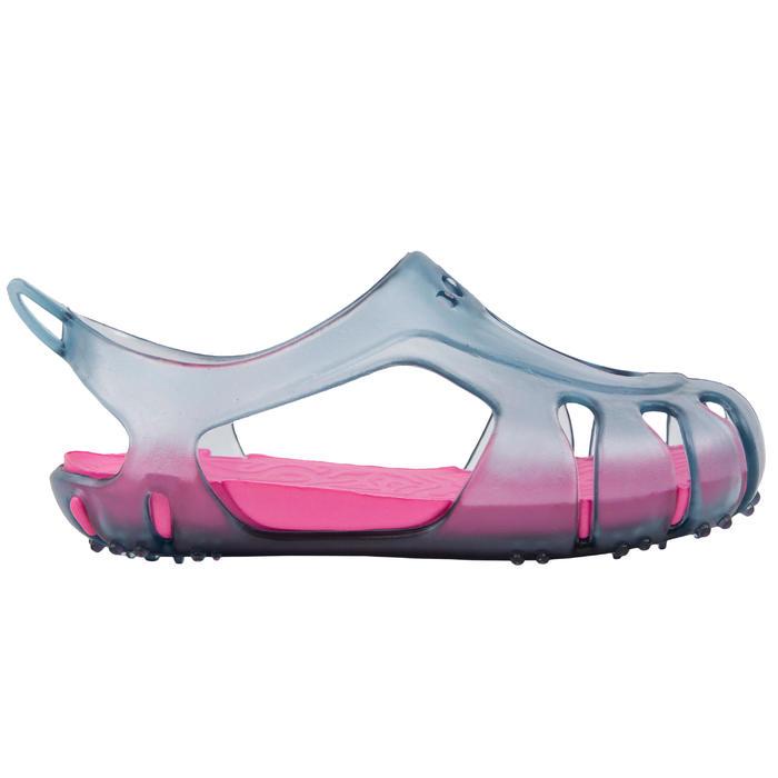 Waterschoenen peuters grijs/roze