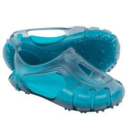 Sandalias de natación bebé gris/azul