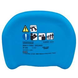 "Child's swimming board - Blue with ""DRAGON"" print"