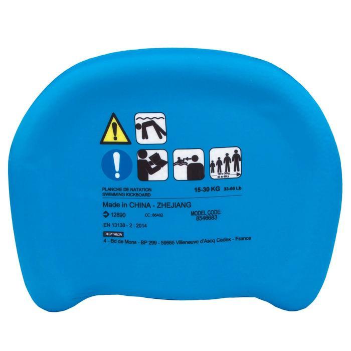"""Tabla de natación niños azul con estampado """"DRAGÓN"""""""