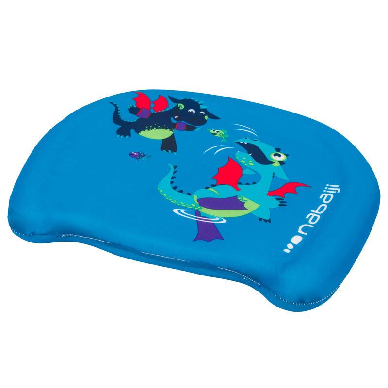 Child's swimming board - Blue with _QUOTE_DRAGON_QUOTE2_ print