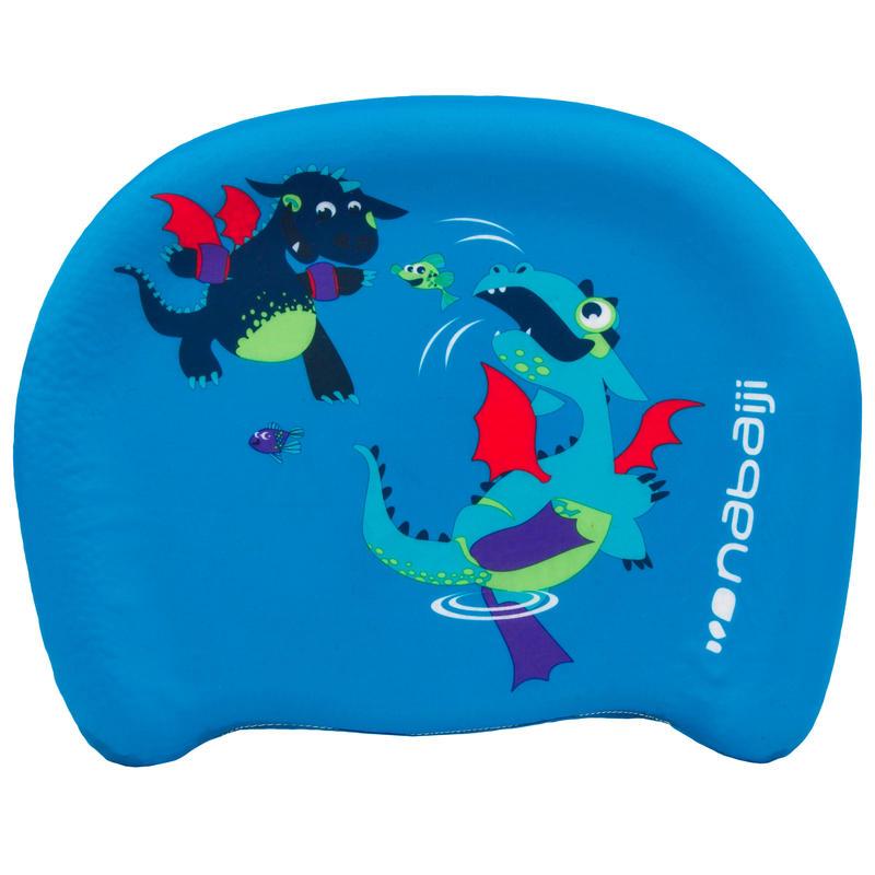 """Child's swimming board blue """"DRAGON"""" print"""
