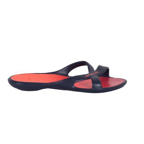 500 Marine Slap RoseNabaiji Femme Imprime Bleu Sandales Natation uclFTJ3K1
