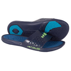 MEN'S SLAP 500 PLUS POOL SANDALS BLUE BLUE