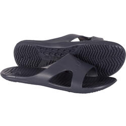 MEN'S SLAP 100 POOL SANDALS BASIC GREY