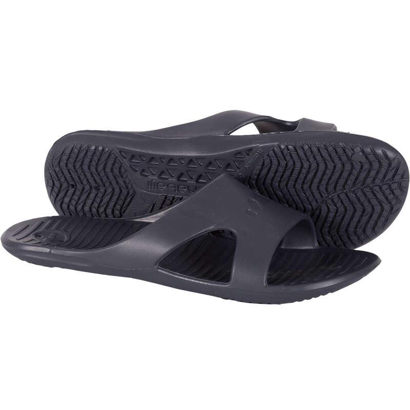 Uszodai papucs Úszás, uszodai sportok - Férfi papucs uszodába 100 NABAIJI - Úszás felszerelés