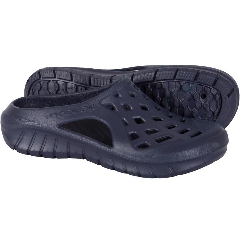 รองเท้าแตะเดินริมสระสำหรับผู้ชายรุ่น 100 (สีกรมท่า)